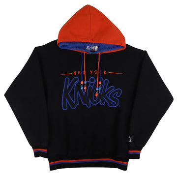 1990s Starter New York Knicks Double Hooded Sweatshirt L Youth