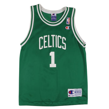1990s Champion Boston Celtics 'Number One' Jersey M Youth