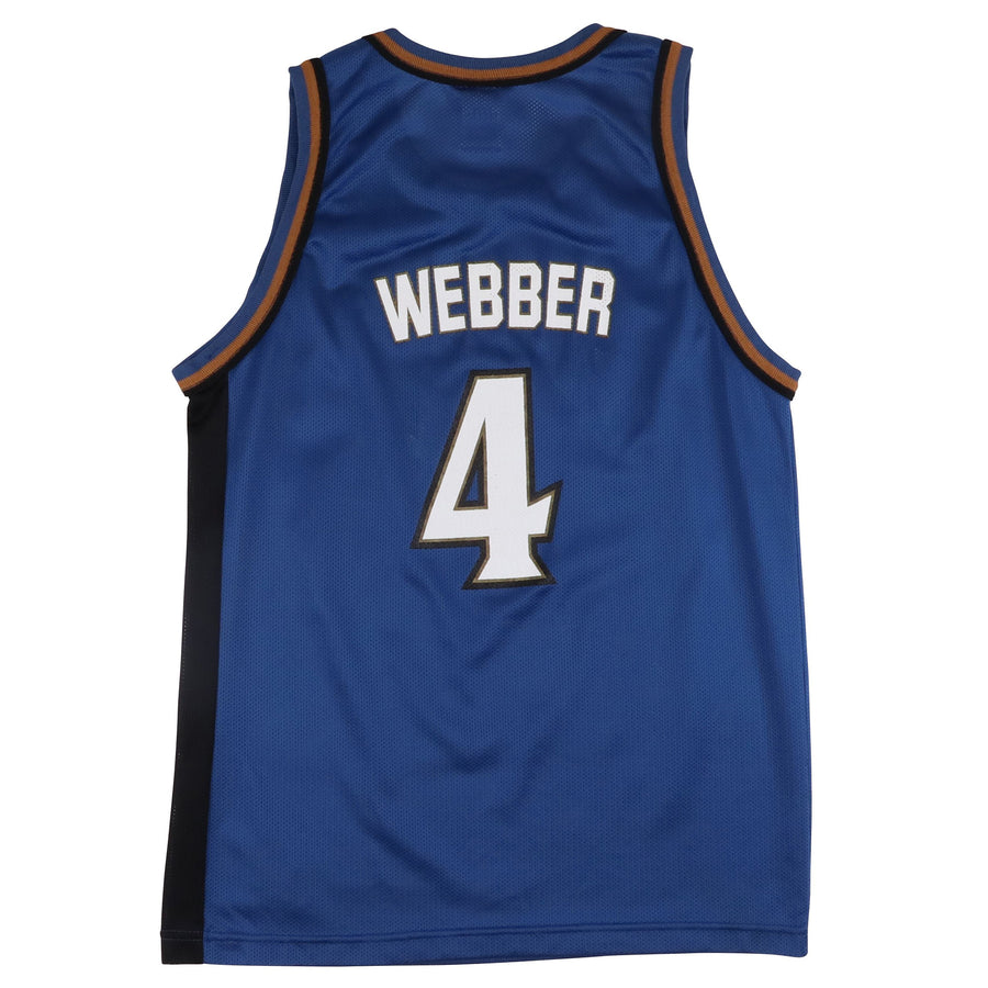 1990s Champion Washington Wizards Chris Webber Jersey L Youth