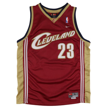 2000s Nike Cleveland Cavaliers Lebron James Jersey L Youth