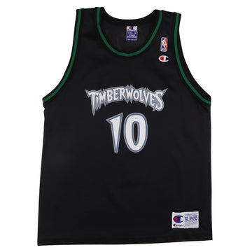 1990s Champion Minnesota Timberwolves Wally Szczerbiak Jersey XL Youth