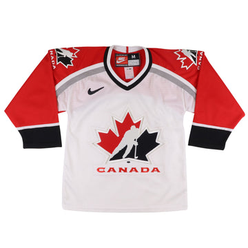 1990s Nike Team Canada Olympics Hockey Jersey S/M Youth