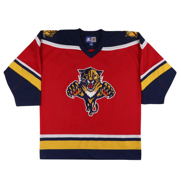 1990s Starter Florida Panthers Hockey Jersey L/XL Youth