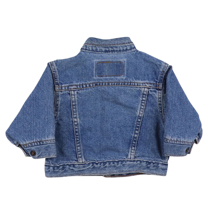 1980s Levi's Orange Tab Type 4 Snap Front Jean Jacket 12 Months