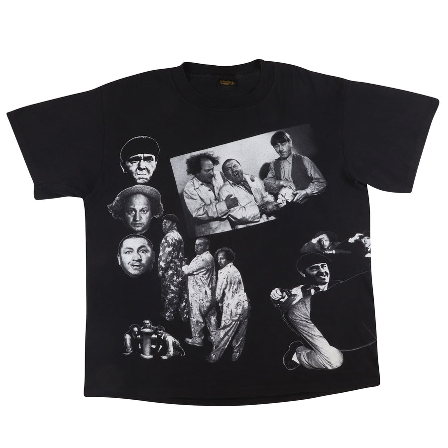 1991 The Three Stooges All Over Print T-Shirt XL