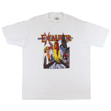1988 Marvel Comics Excalibur Captain Britain T-Shirt L