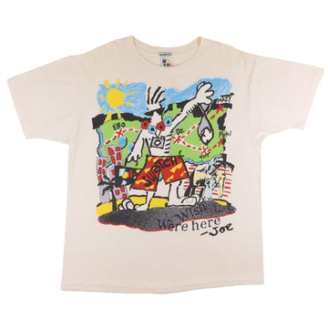 1980s Swatch Watch Wish You Were Here T-Shirt M