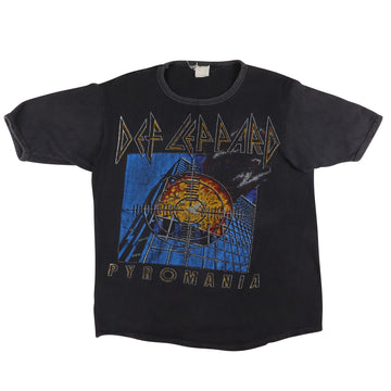 1983 Def Leppard Pyromania Parking Lot T-Shirt M