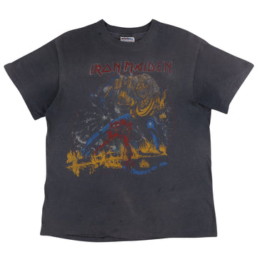 1982 Iron Maiden Number Of The Beast Album Cover T-Shirt M