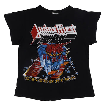 1984 Judas Priest Defenders Of The Faith Metal Purveyors Tour T-Shirt S