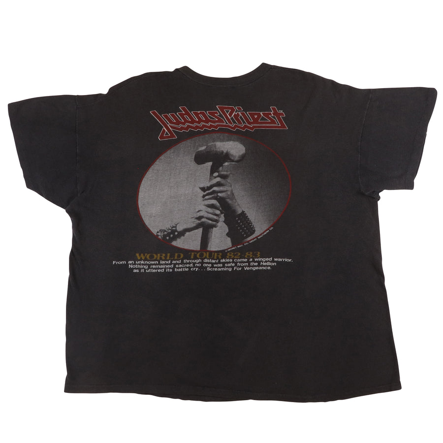 1983 Judas Priest Screaming For Vengeance Tour T-Shirt L