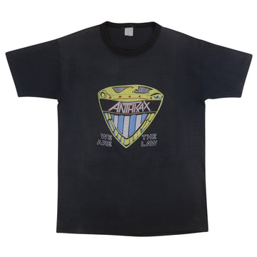 1987 Anthrax Judge Dredd We Are The Law T-Shirt M