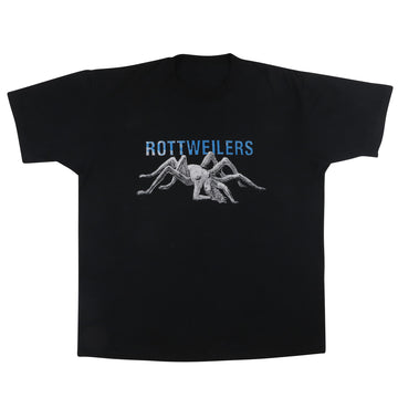 1990s Rottweilers Punk Rock Spider Woman Cover Band T-Shirt XL