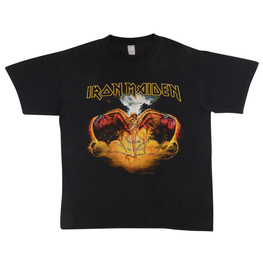 1992 Iron Maiden Fear Of The Dark Album Art T-Shirt L
