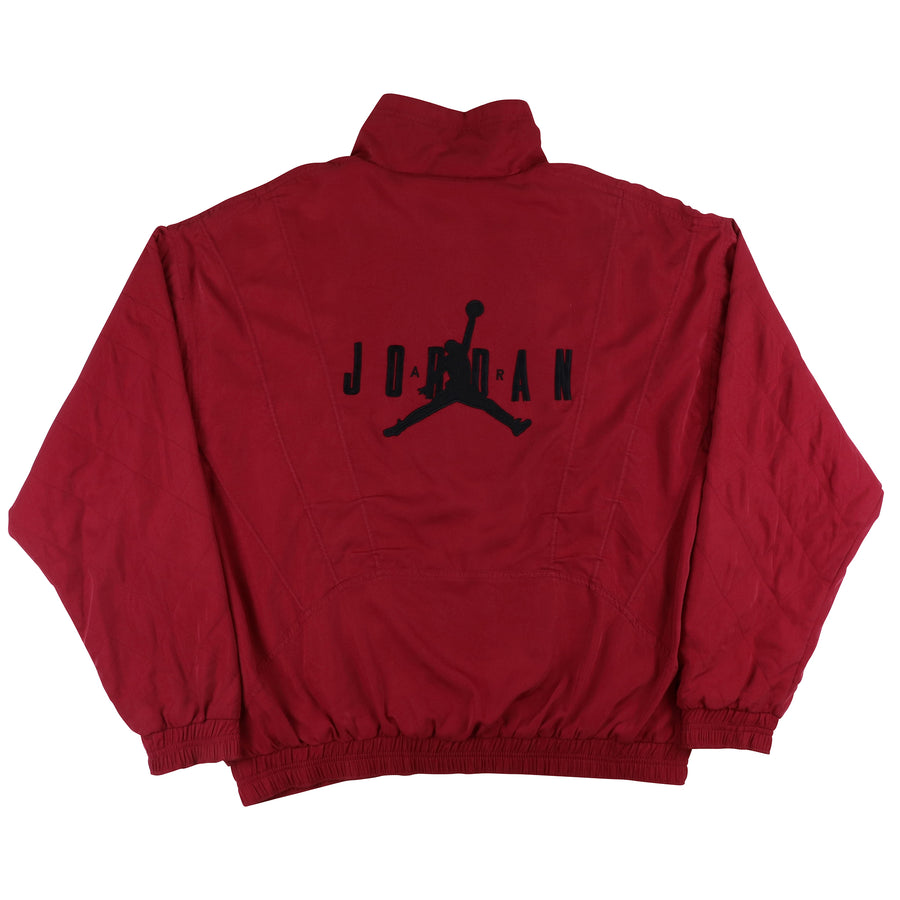 1992 Nike Air Jordan Embroidered Back Print Track Jacket XL