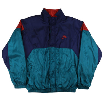 1990s Nike Cross Training Colour Block Track Jacket L