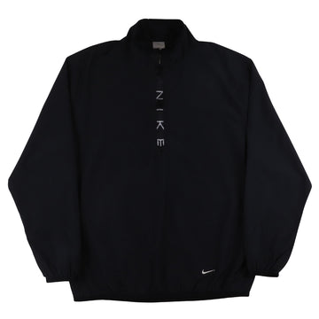 2000s Nike Half Zip Spellout Pullover Track Jacket M