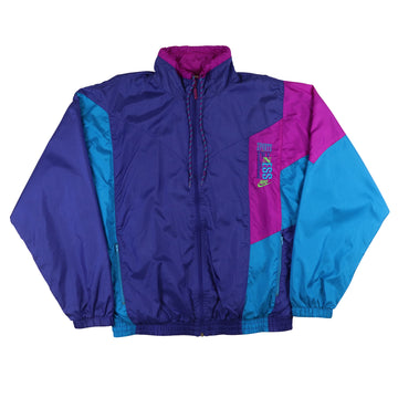 1990s Nike Sports & Fitness Colour Block Track Jacket L