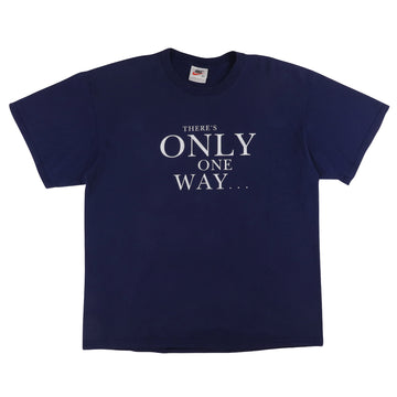 1990s Nike 'There's Only One Way, The Fair Way' Golf T-Shirt L