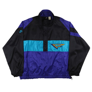 1990s Nike Flight Signature Pullover Track Jacket XL