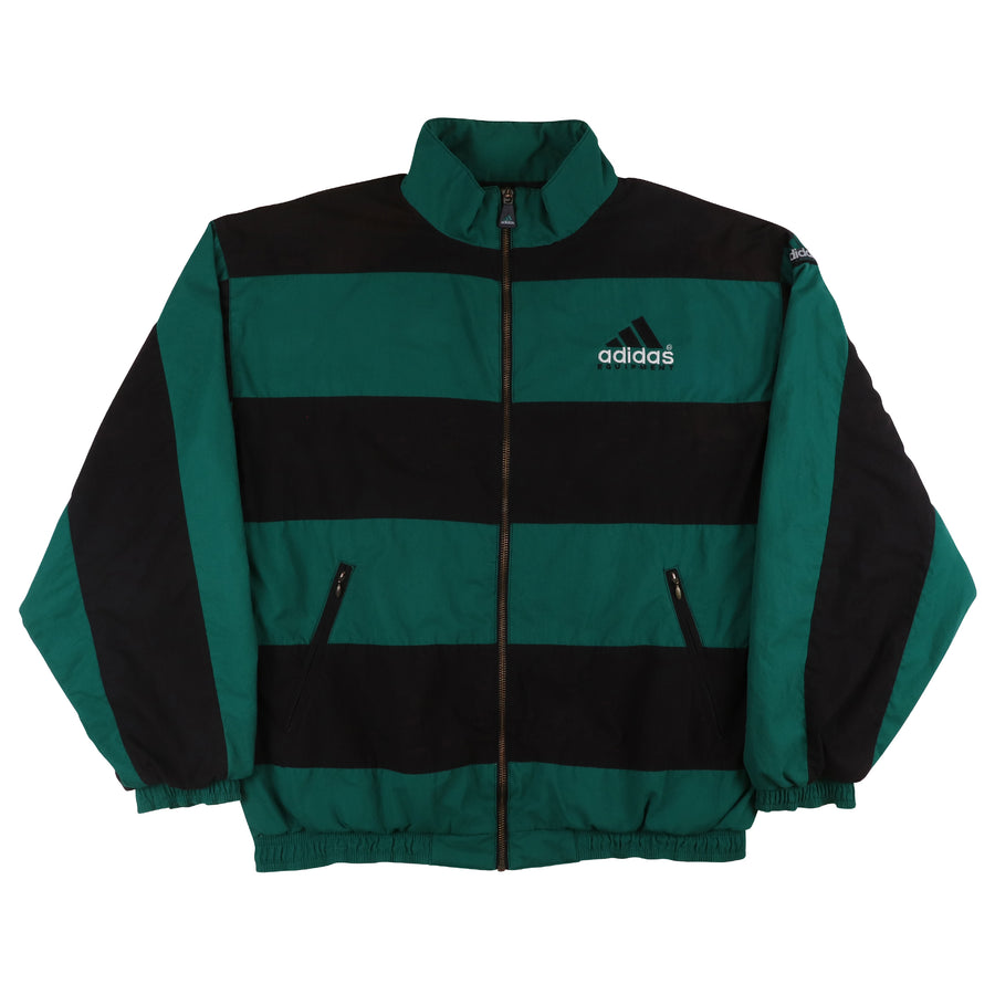1990s Adidas Equipment Striped Track Jacket M