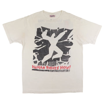 1988 Reebok 'Human Rights Now' World Tour Paper Thin T-Shirt L