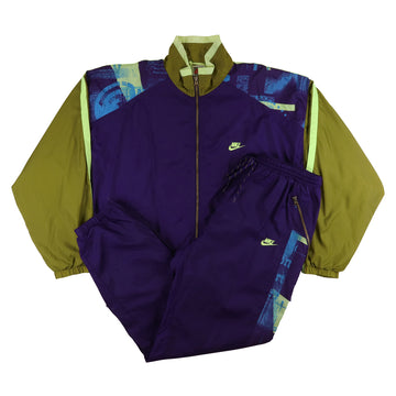 1990s Nike Maximal Power Lined Tracksuit L