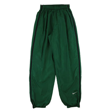 1990s Nike Swoosh Zip Out Sides Lined Track Pants M