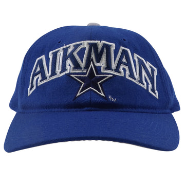 1990s Starter Dallas Cowboys Troy Aikman Arc Logo Snapback Hat