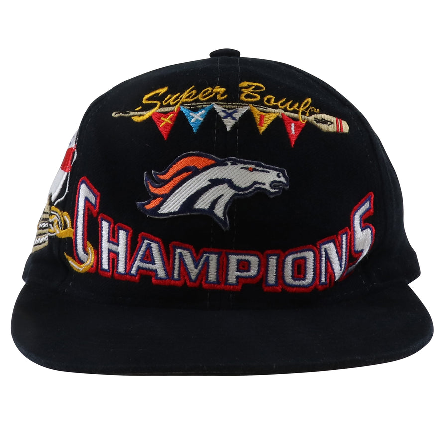1998 Logo Athletic Super Bowl XXXII Denver Broncos Snapback Hat