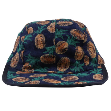 1990s Patagonia All Overprint Pineapples 4 Panel Camp Hat M