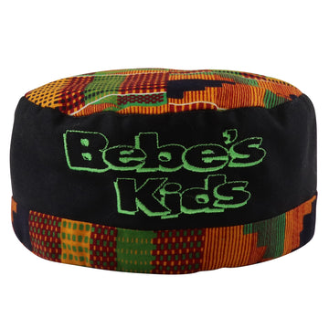 1990s Bebe's Kids Movie Promo Kente Cloth Kufi Style Hat