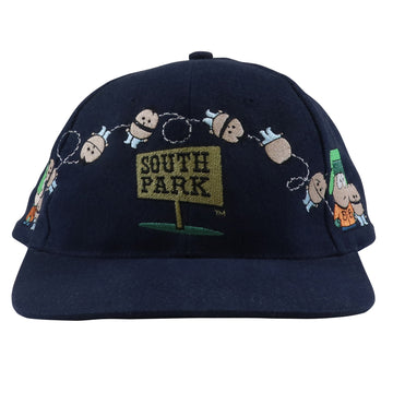 1998 South Park Embroidered Characters Television Snapback Hat