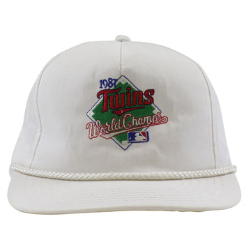 1987 Minnesota Twins World Series Snapback Hat