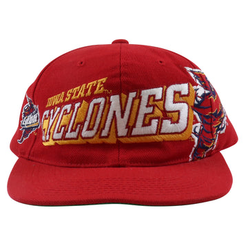 1990s Sport Specialties Iowa State Cyclones Shadow Script Snapback Hat