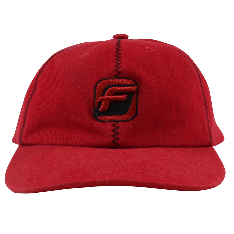 1990s FUBU Zig Zag Stitch Embroidered Strapback Hat