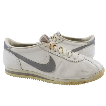 1983 Nike Cortez White/Silver Running Shoes 9