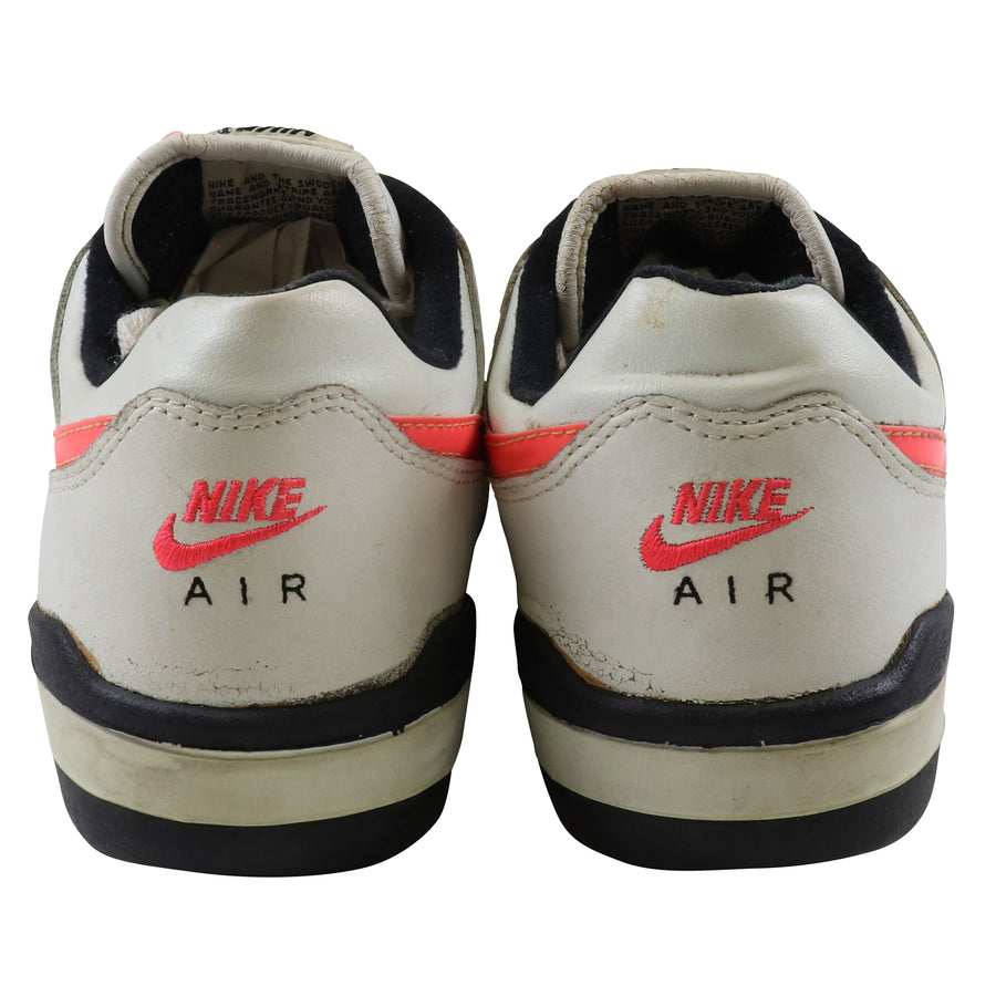 1990 Nike Air Advantage Hot Lava/Black/White Tennis Shoes 10.5