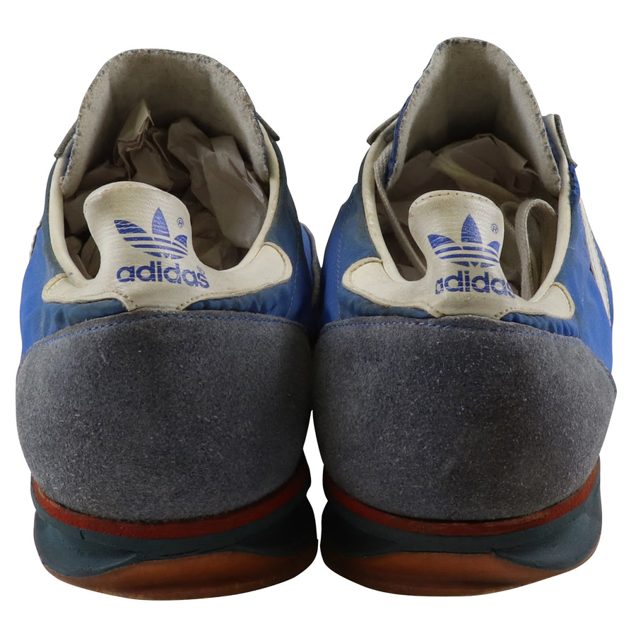 1972 Adidas SL-72 Blue /White/Red Made In West Germany Running Track Shoes 11