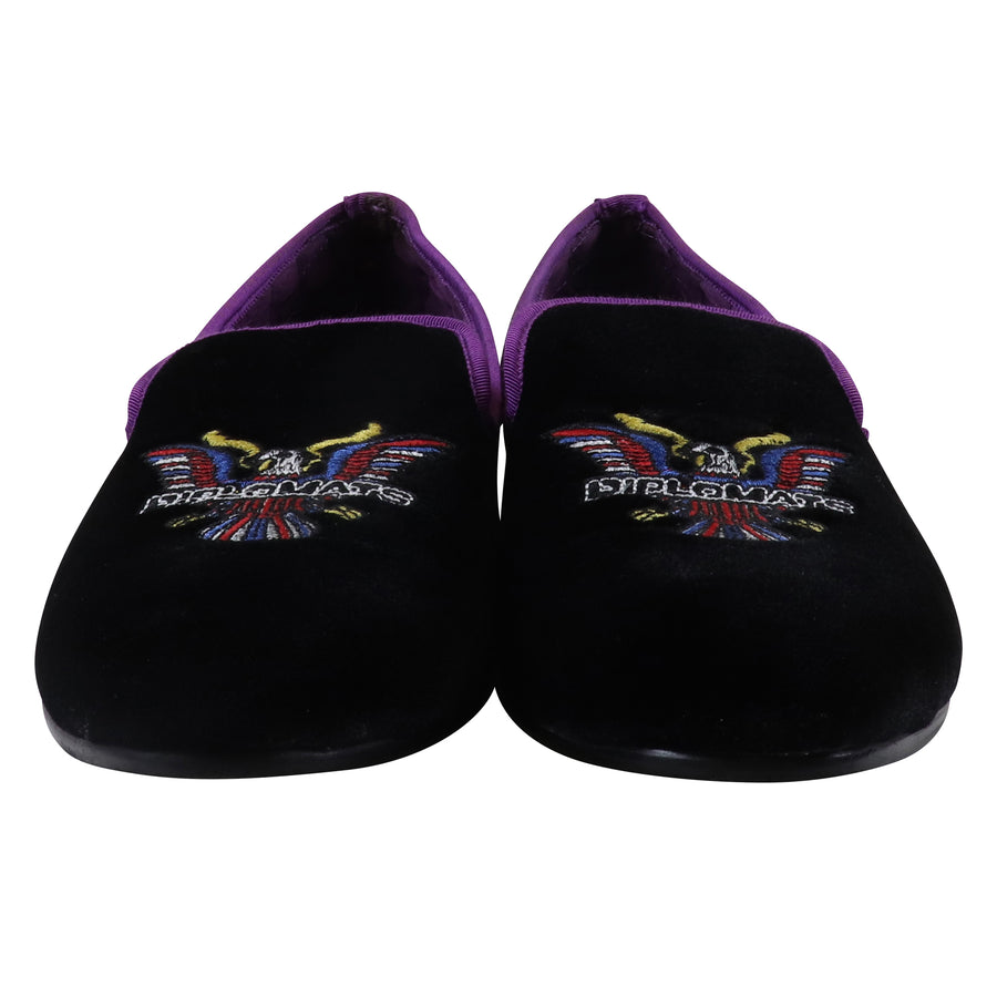 2016 Dipset USA Velvet Limited Numbers Smoking Slippers 45 EU