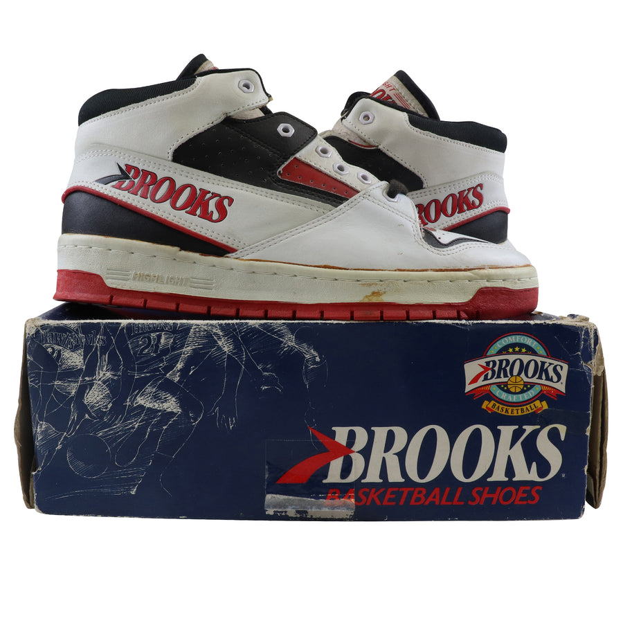 1988 Brooks Dominique Wilkins Highlight Mid Basketball Shoes 9.5