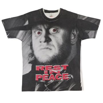 1993 WWF Wrestling The Undertaker 'Rest In Peace' T-Shirt XL