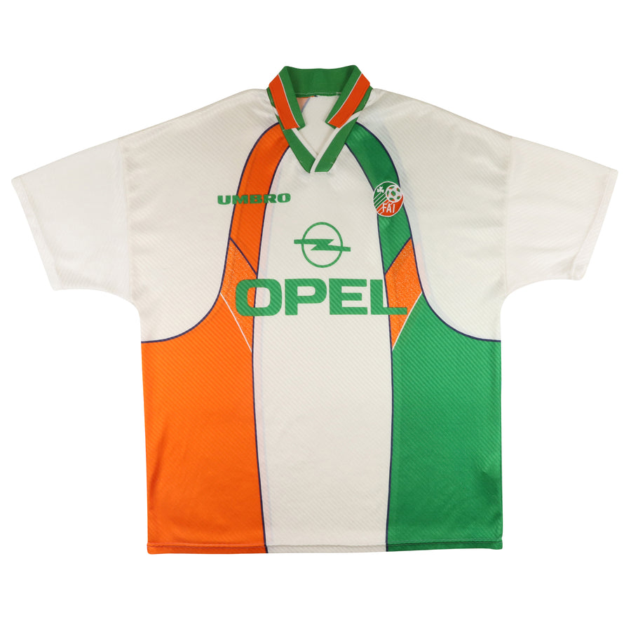 1996 Republic Of Ireland 'Eire' Soccer Jersey 48