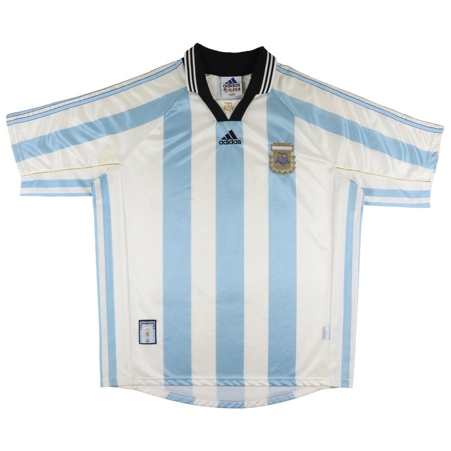 1998 Adidas Argentina National Team World Cup Jersey XL