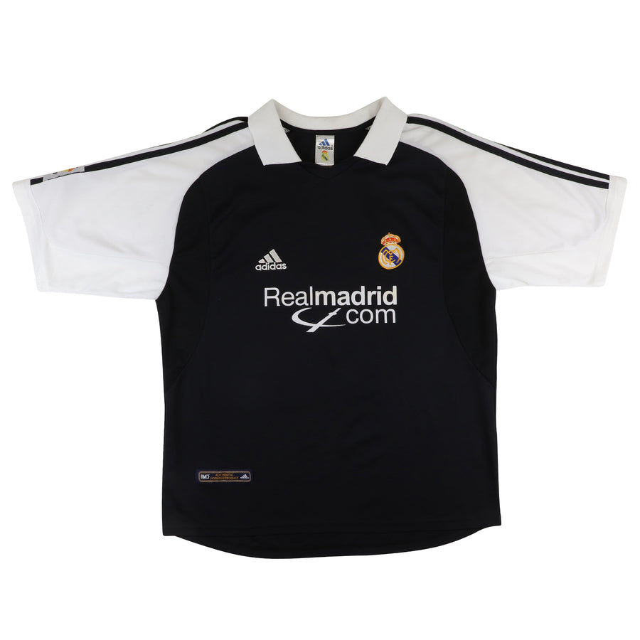 2001 Real Madrid Spain La Liga Soccer Jersey XL