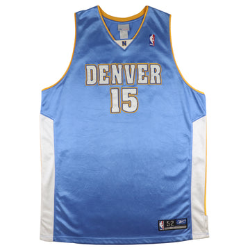 2004 Authentic Denver Nuggets Carmelo Anthony Jersey 52