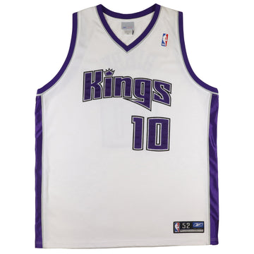 2005 Reebok Authentic Sacramento Kings Mike Bibby Jersey 52
