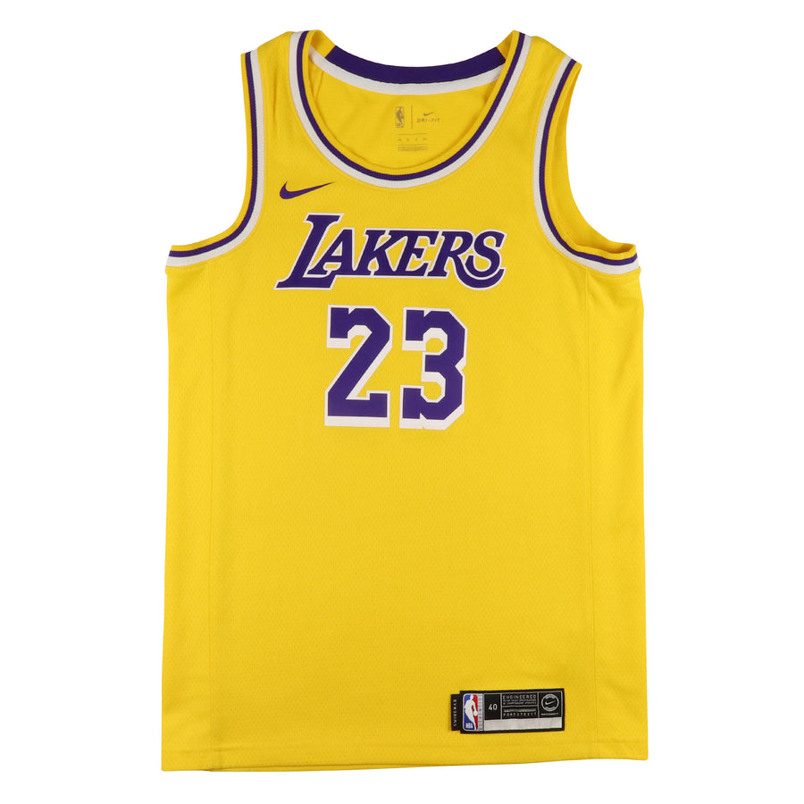 2019 Los Angeles Lakers Lebron James Swingman Jersey S