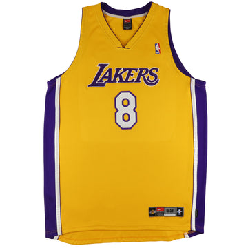 2002 Nike Authentic Los Angeles Lakers Kobe Bryant Jersey 52