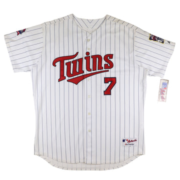 2009 Majestic Authentic Minnesota Twins Joe Mauer Jersey 52